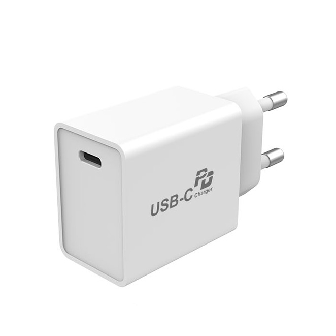 18W PD3.0 Fast Charging USB-C Wall Charger for Cell Phones
