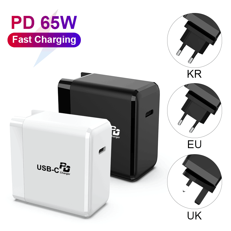 Mini 65W GaN Laptop PD Quick Charger Support OEM