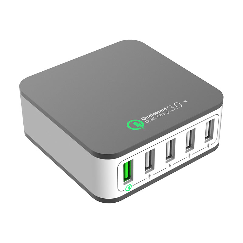 40W Multi USB Charger QC3.0 Mobile Phone Charger