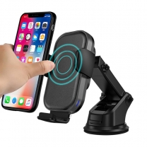 15W Qi Wireless Car Charger for Mobile Phone Fast Charging