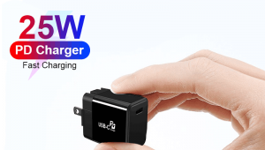 25W PD Wall Charger, USB Type C Wall Quick Charger Adapter For Samsung