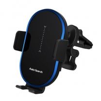 Smart Tracking Auto induction 15W Wireless Car Charger for Mobile Phone